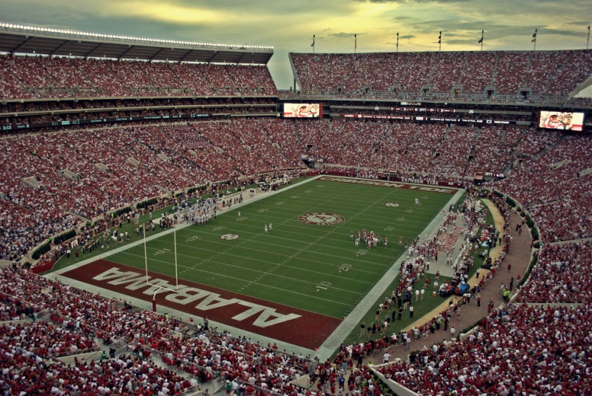 Alabama Football Stadium - Bryant Denny Stadium